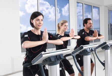 EMS trénink - cvičení